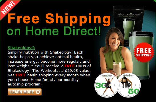 Shakeology Free Shipping