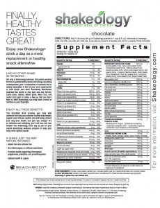 Beachbody Shakeology - Terrific Meal Replacement Shake