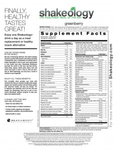 Shakeology Calories - How Many Calories Are In Shakeology?